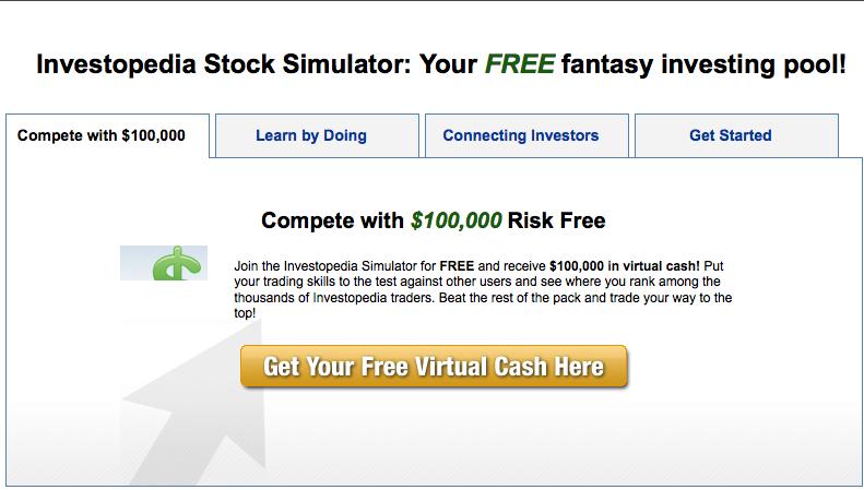 Mock Stock Trading Online