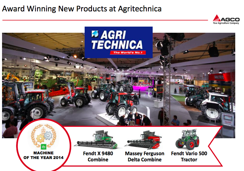 AGCO Product Line Analysis