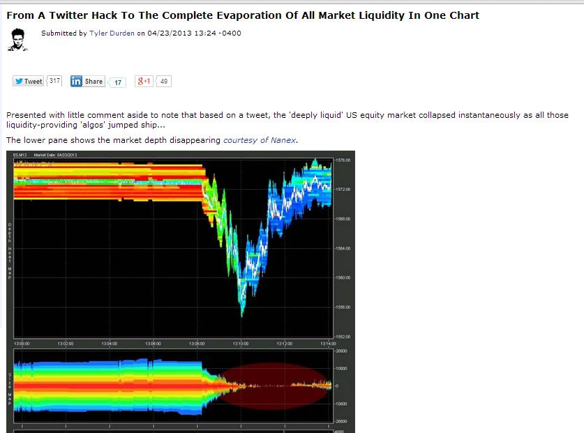 hft liquidity myth