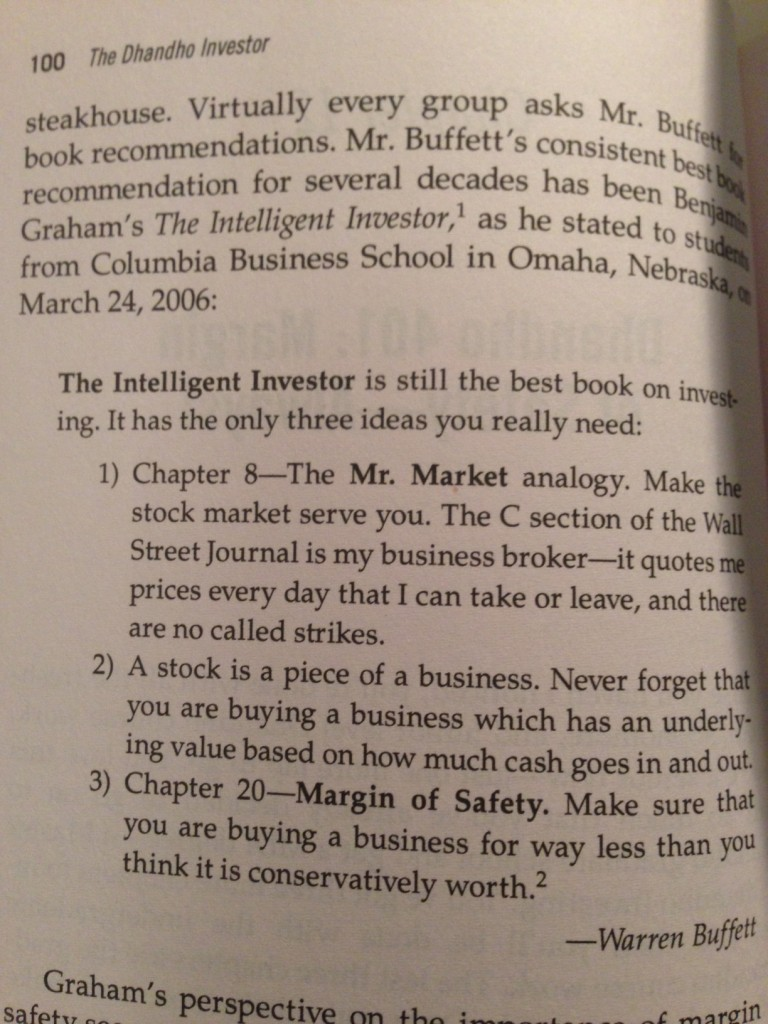 best book for stock market investing